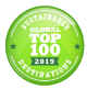 Top 100 Sustainable Destinations logo - Cogne